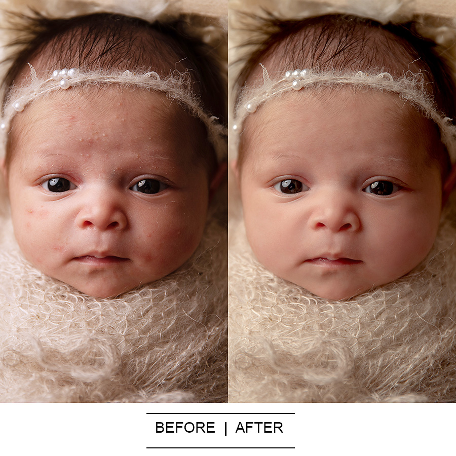 before after Photoshop