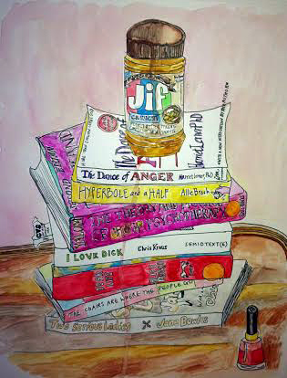 still life with jif by Sarah Seldomridge