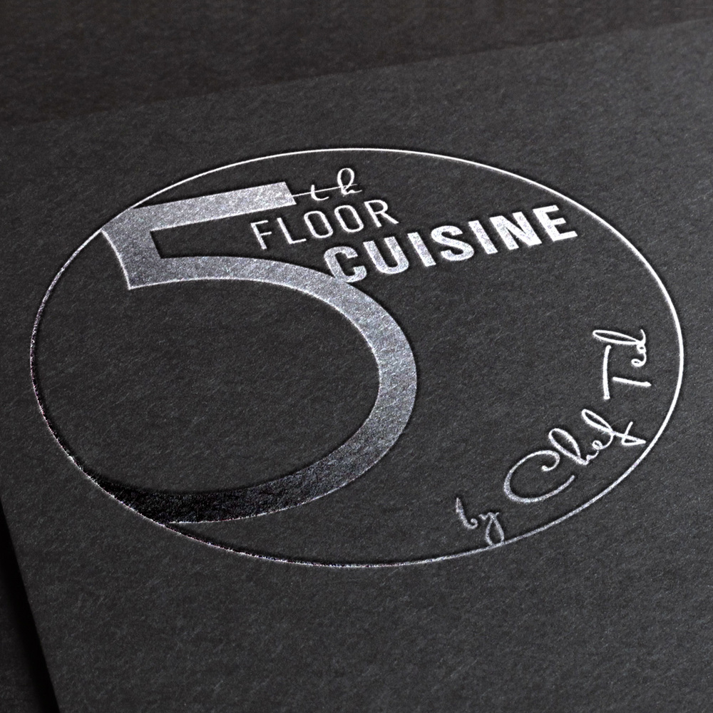 5TH FLOOR CUISINE      •   branding web design art direction   print