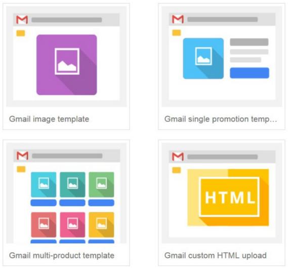 Gmail ads types | Blue Shark Digital