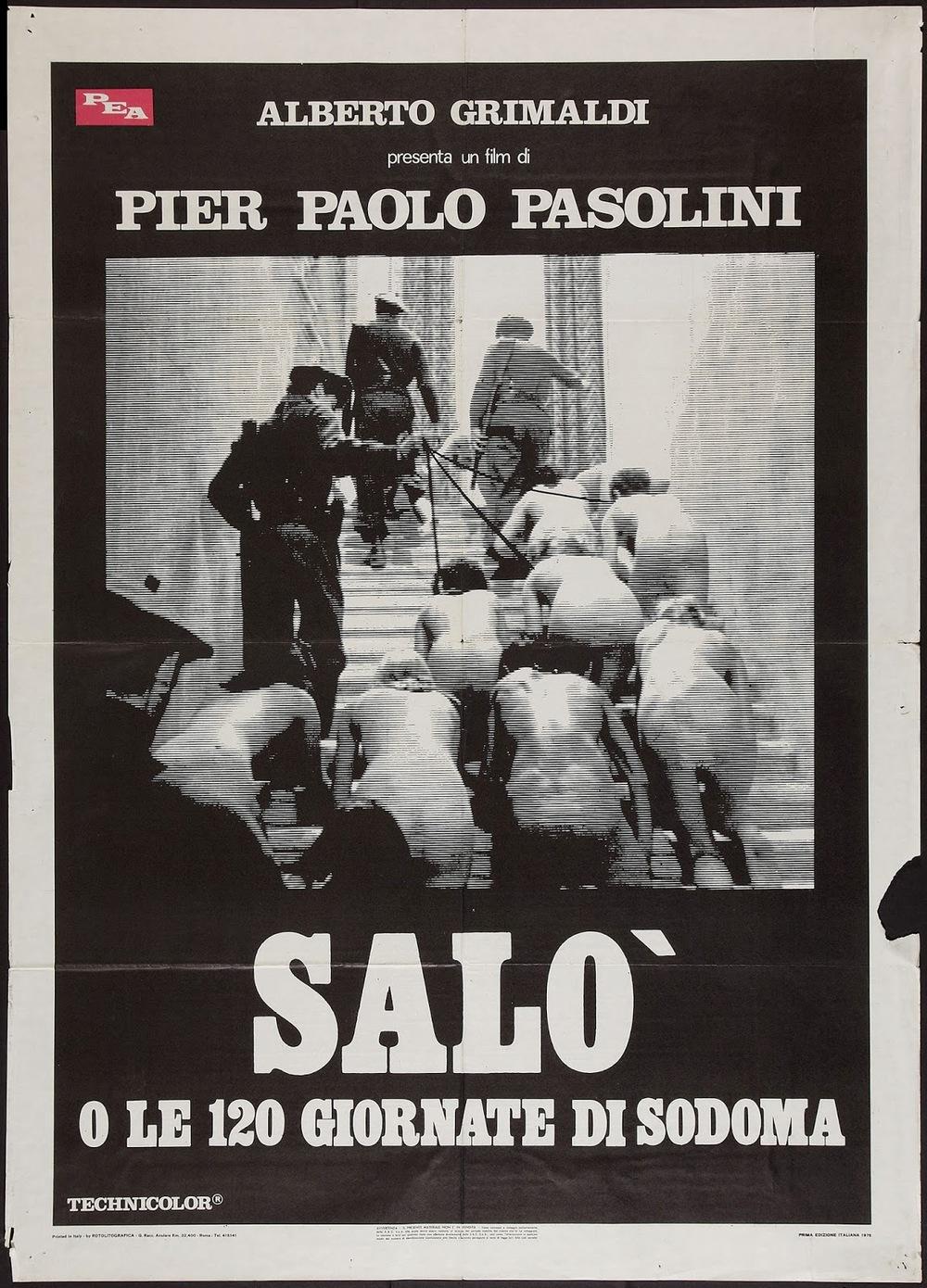 SALO, O LE 120 GIORNATE DI SODOMA - Italian Poster 1.jpeg