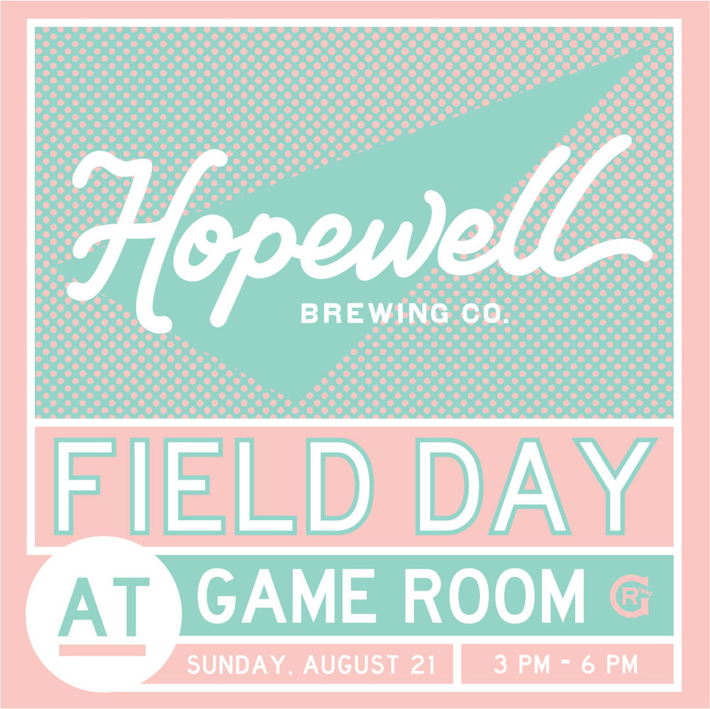 Join us for our final Field Day celebration at Game Room at the Chicago Athletic Association this coming Sunday! Good times guaranteed for all.