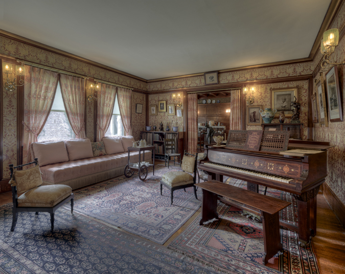 Glessner parlor, photo by James Caulfield