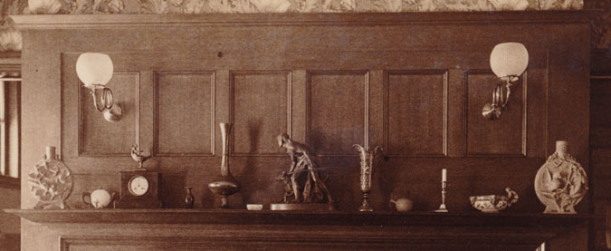 Master bedroom, Glessner house, c. 1888