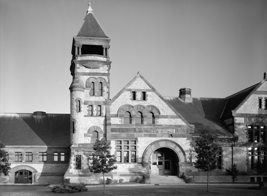 Chestnut Hill Pumping Station (Courtesy of HAER)