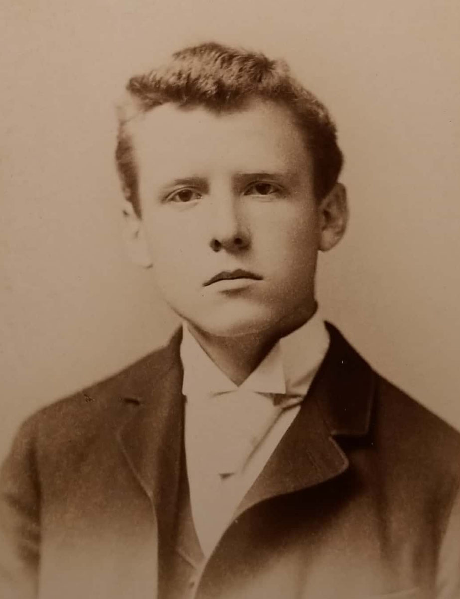 George Burgess Magrath while at Harvard