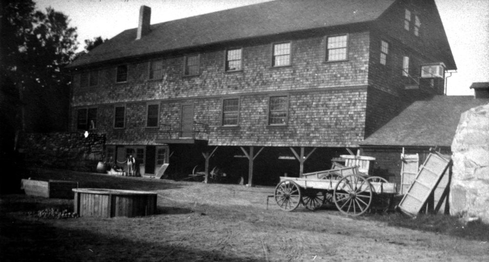 Tool Building, rear, circa 1910