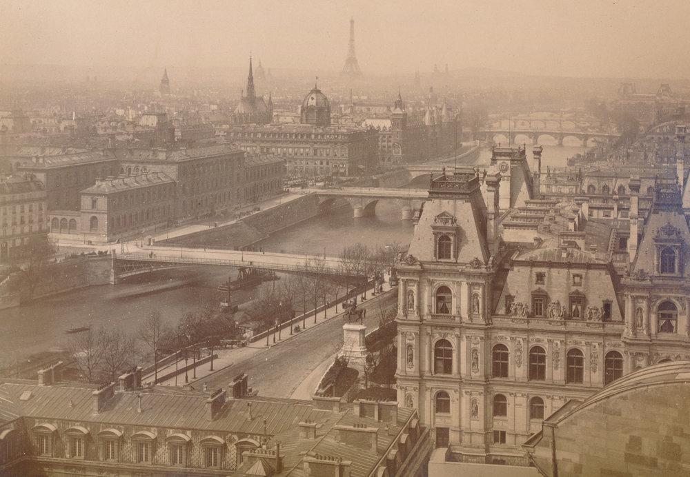 Panorama of the seven bridges