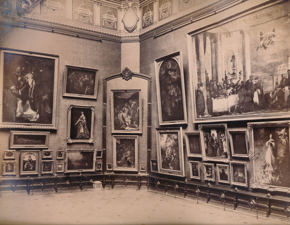 A gallery at the Louvre