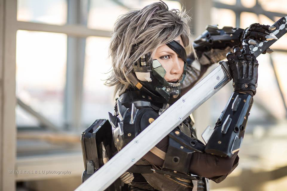 Pro Voltage Cosplay  is Raiden | Photo by  Mineralblu Photography