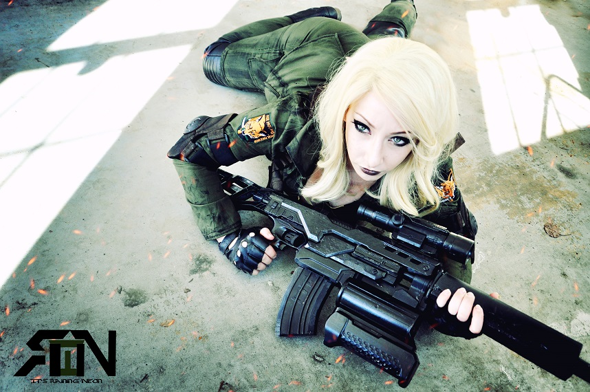 It's Raining Neon  is Sniper Wolf