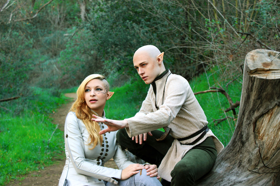 Sylar & Sheila  are Solas & The Inquisitor | Photo by Maguma