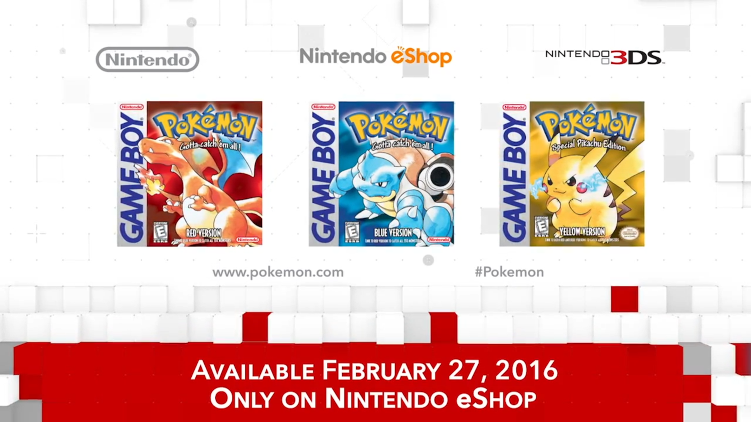 The Nintendo Direct Super Post Everything You Need To Know Power Plant Layout Pokemon Yellow Classic Versions Of Originally Released On Gameboy Are Finally Coming Eshop For 3ds