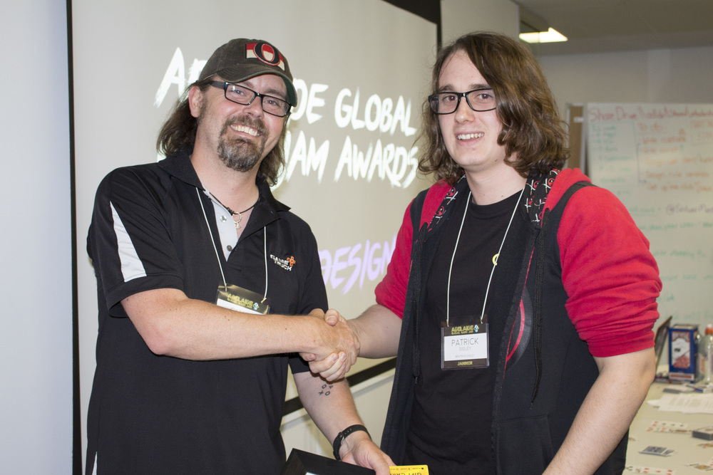 Patrick Sigley with Chad Habel - Blood Battle - Winner of Best Design.jpg