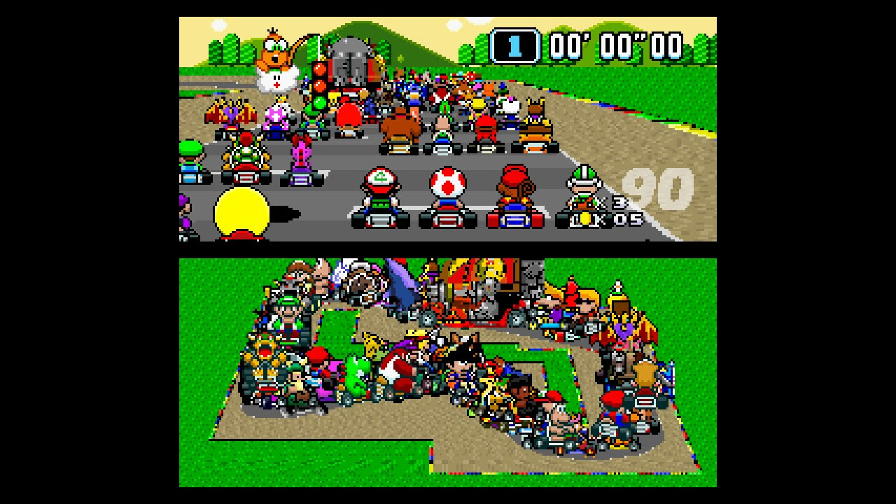 101 Characters Race In The Most Chaotic Mario Kart Race Ever Gametyrant