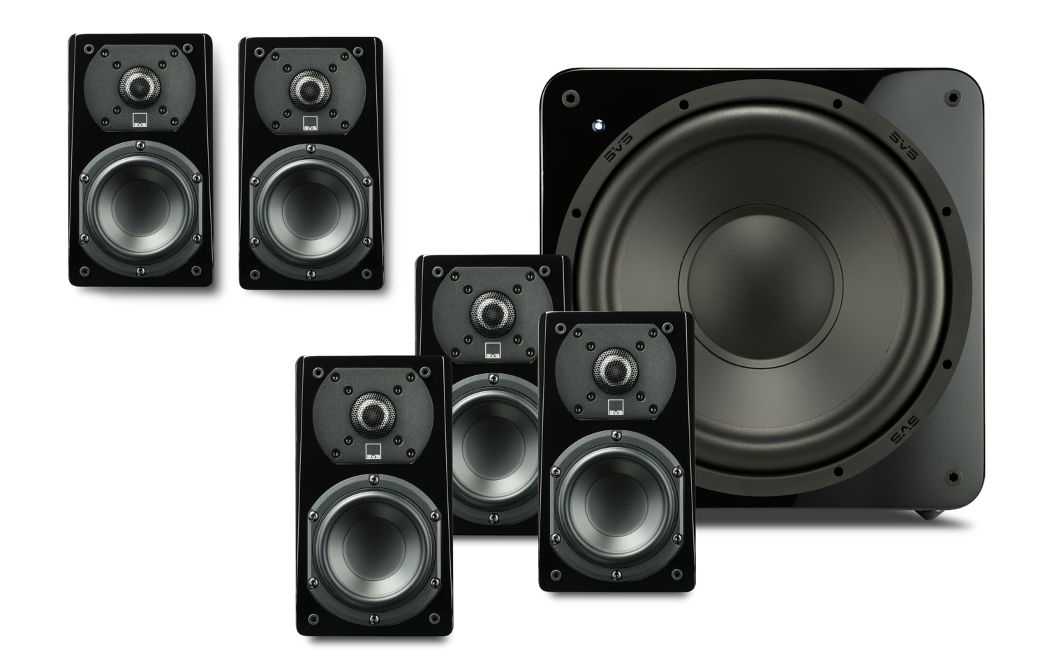 Review The Svs Prime Satellite 51 Speaker System Supreme Sound
