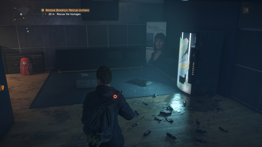 The Division + 4K = Wet Pants