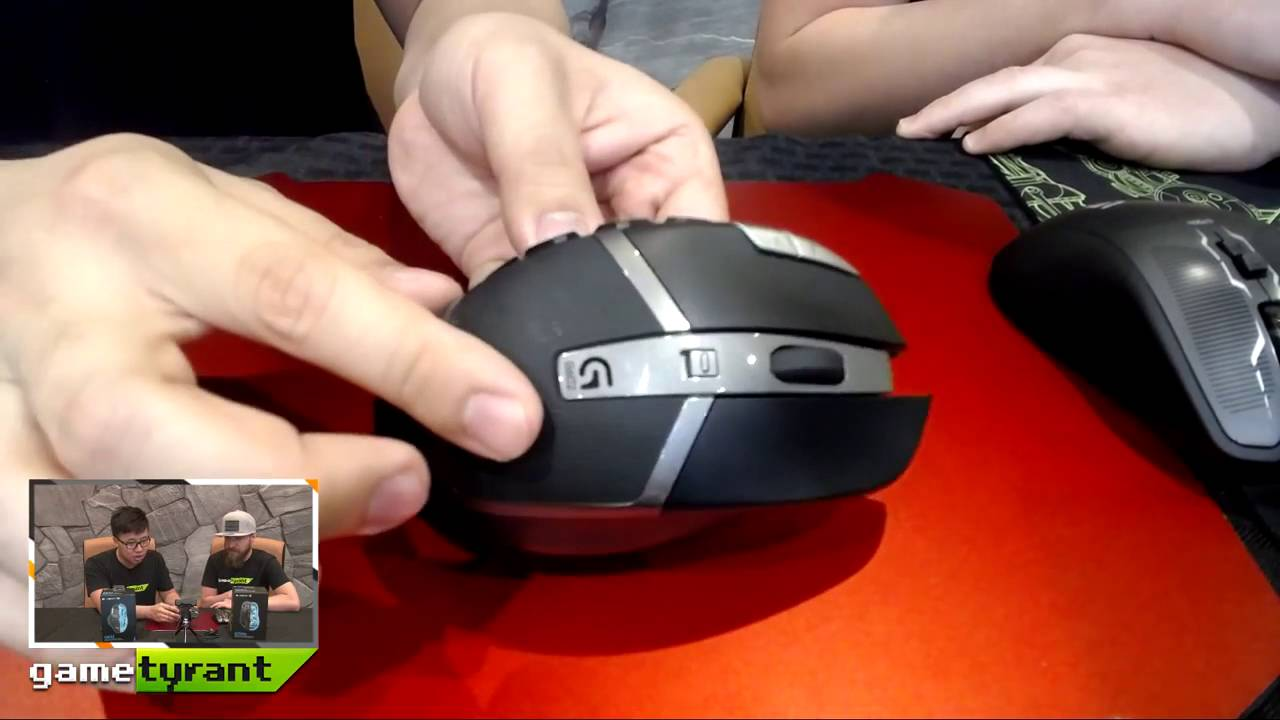 e63cf93b4de The Gametyrant review show is back with the guys taking a look at Logitech's  G602 Wireless Gaming Mouse! Check it out and subscribe on Youtube for live  tech ...