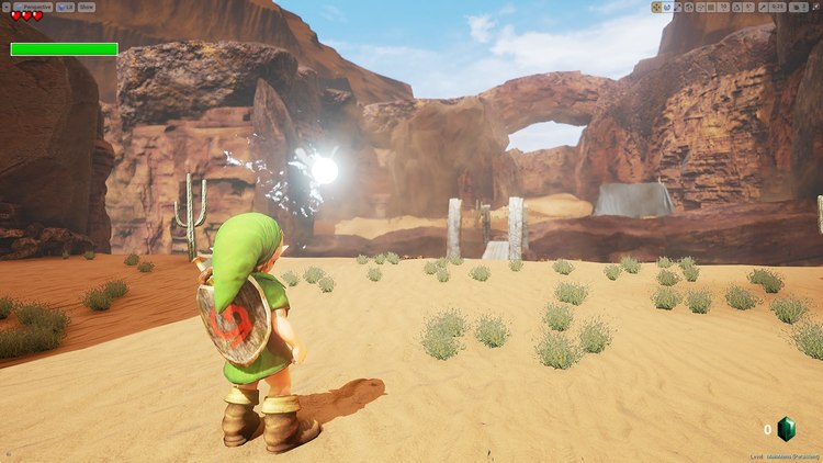 Goron City Rocks In LEGEND OF ZELDA Unreal Engine 4 Project — GameTyrant