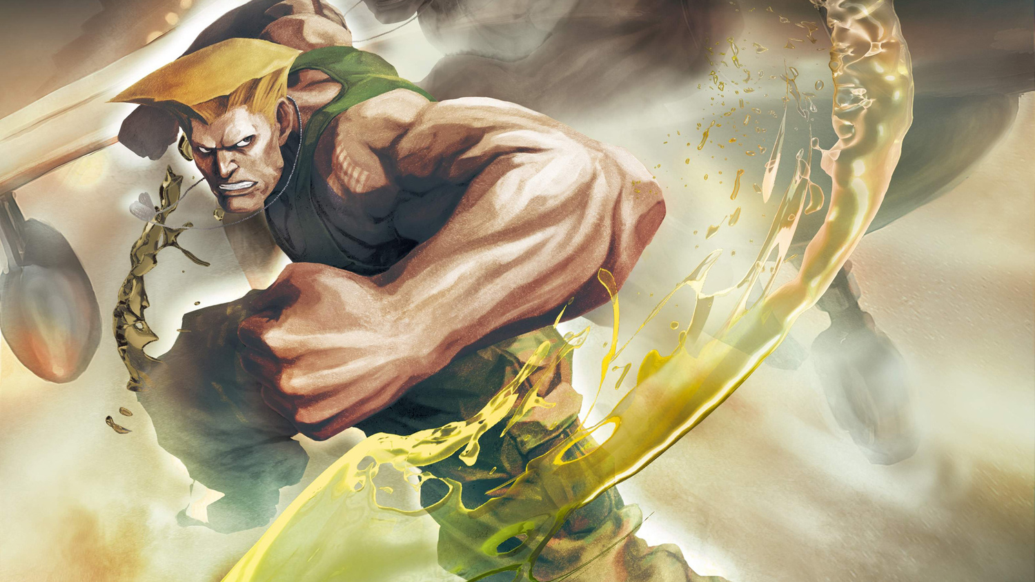 Guile's Original Theme Is In STREET FIGHTER V's Air Force