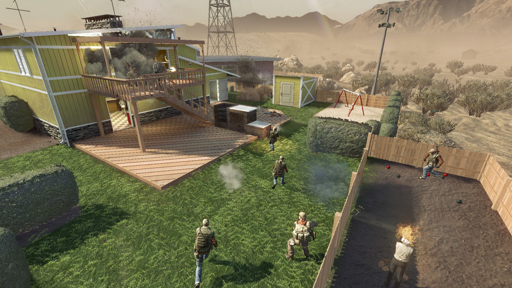 Black Ops 1 Nuketown Easter Egg Photo Album - The Miracle of Easter