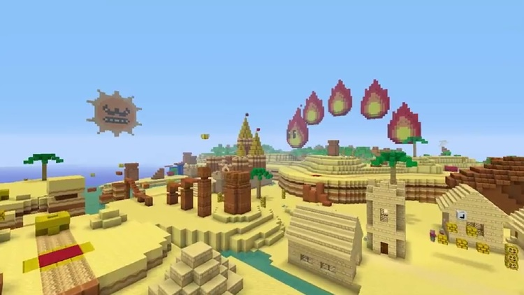 MINECRAFT Going To The Wasteland With New FALLOUT MashUp Pack - Skins para minecraft wii u