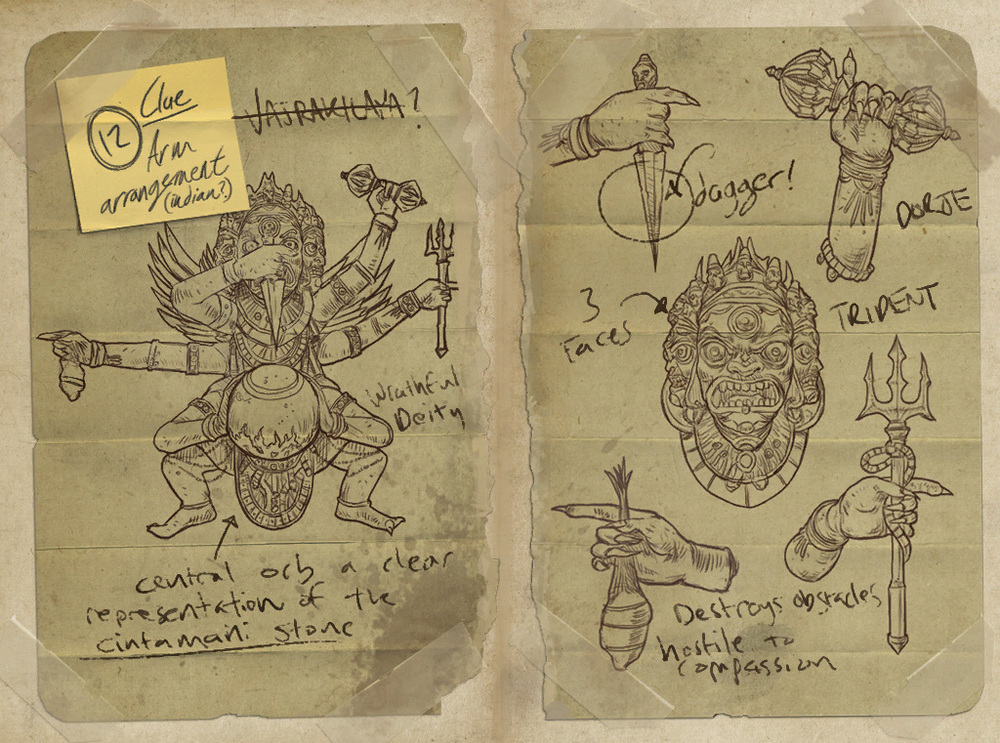 Journal from Uncharted 2: Among Thieves