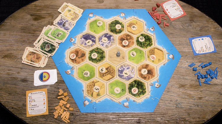 Learn About The Creation Of Settlers Of Catan With Cool Video