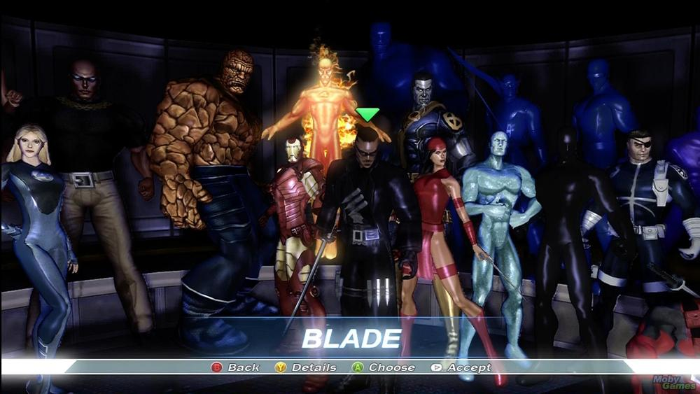 alliance Marvel characters ultimate