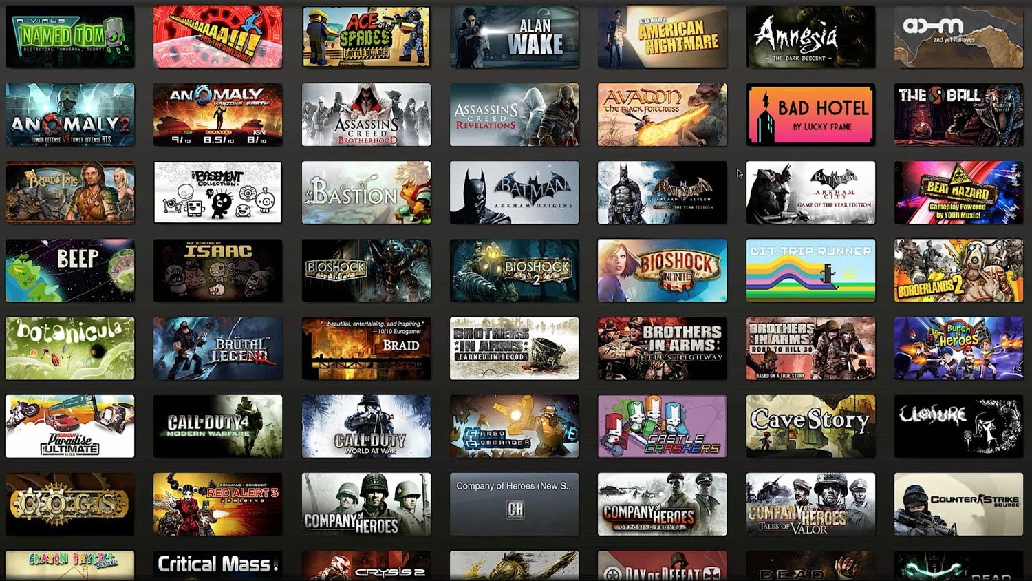 Guy On Steam Owns Over Half Of Games Available   Plays