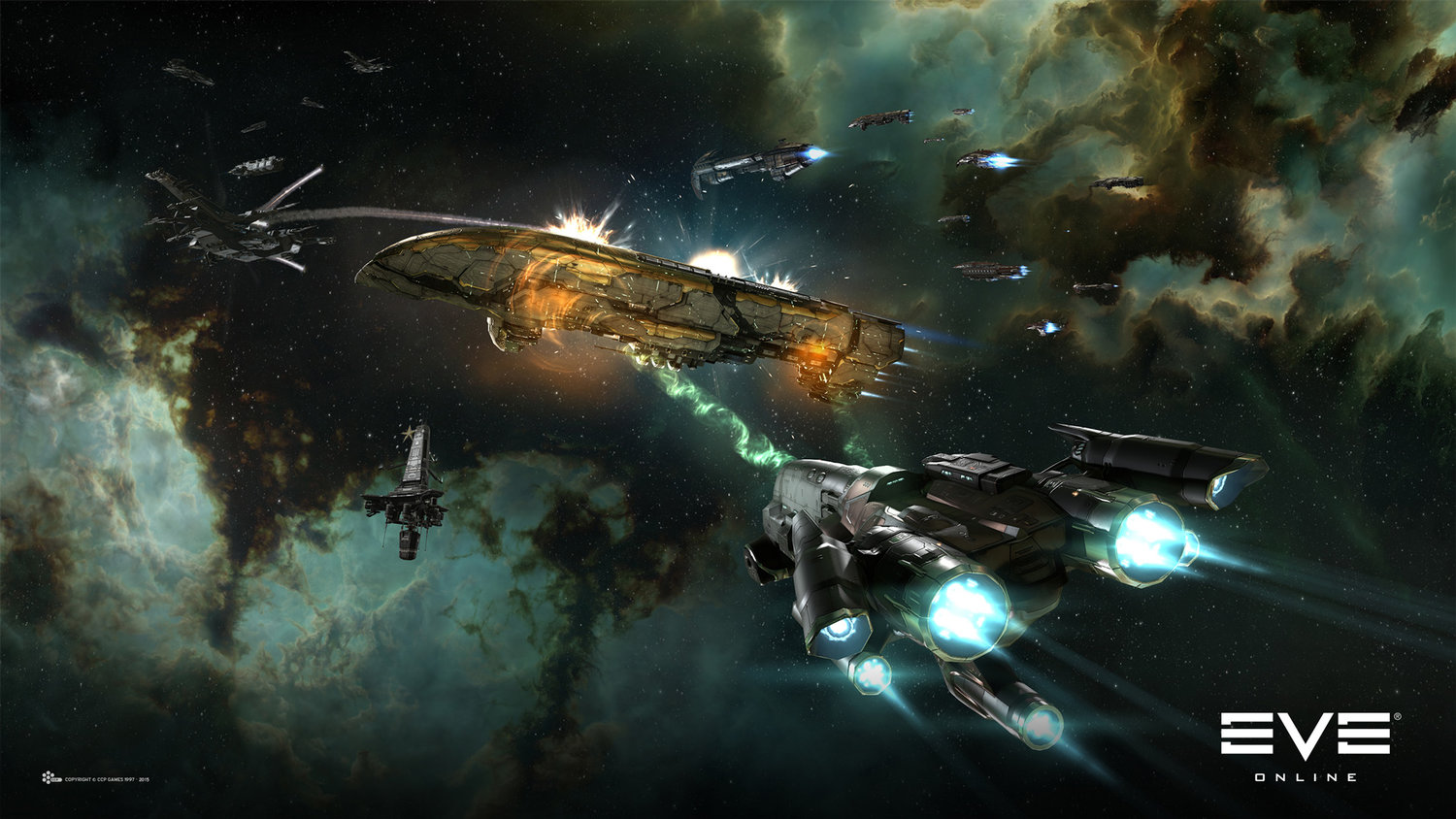 EVE ONLINE Offers Free To Play Option — GameTyrant