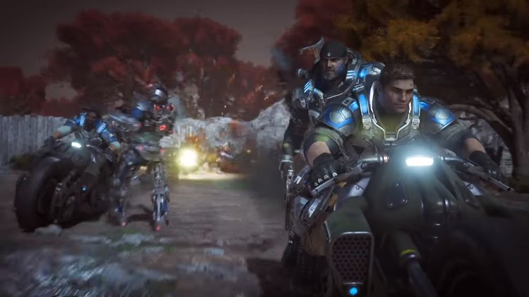 here s every cinematic featured in gears of war 4 gametyrant