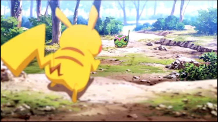 Watch Pikachu Battle Across The Games In First Episode Of