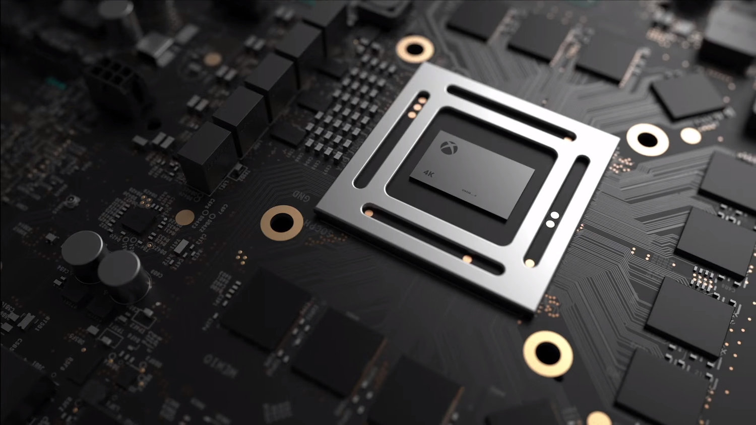 microsoft s project scorpio will natively render games in 4k