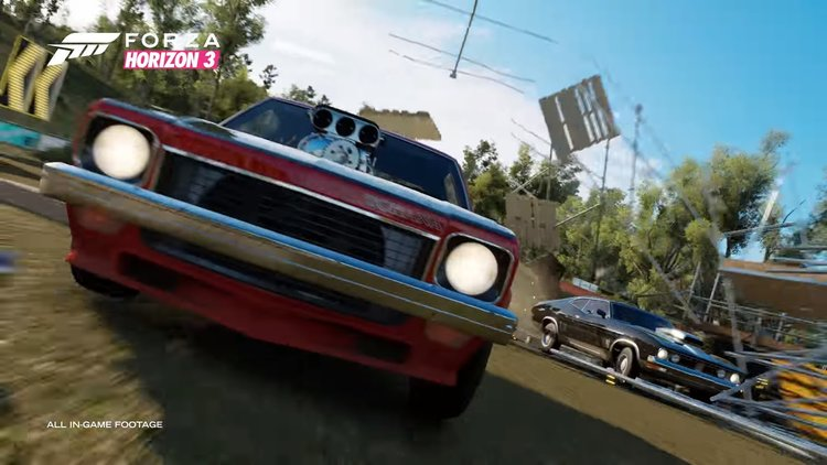 Watch Fast Cars Go Vroom Vroom In FORZA HORIZON Launch Trailer - Fast car edm