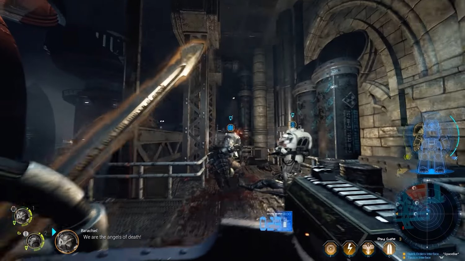 See 17 Glorious Minutes Of Space Chaos Gameplay For SPACE HULK