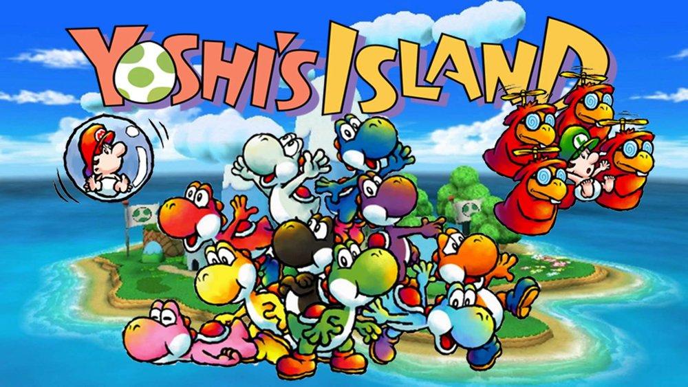 super mario world yoshi island