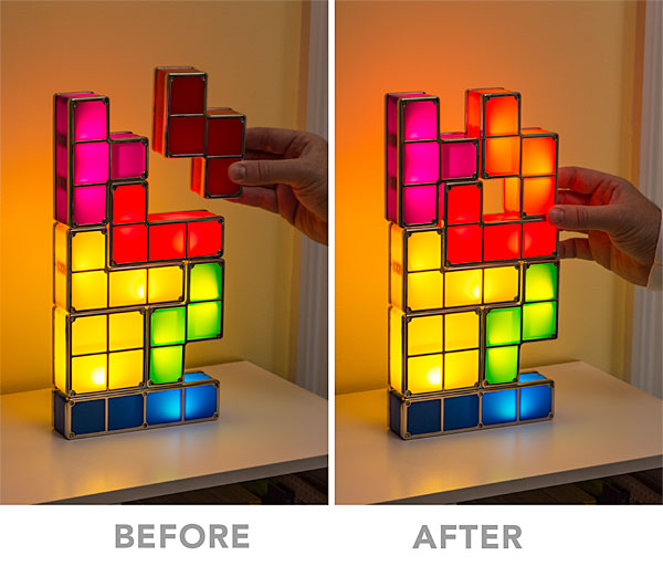 The Pac Man Lamp, While More Simplistic, Does Offer More Of Classical Look  As Well As 16 Color Variants And A USB Plugin So You Never Have To Worry  About ...