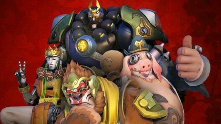 a leaked overwatch video has revealed more skins for the upcoming chinese new year event as well as a potential capture the flag mode - Chinese New Year Video