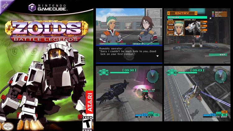 Retro Review: ZOIDS: BATTLE LEGENDS — GameTyrant