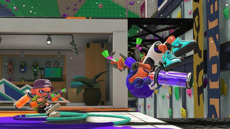 new splatoon 2 stage looks like a trippy ymca gametyrant
