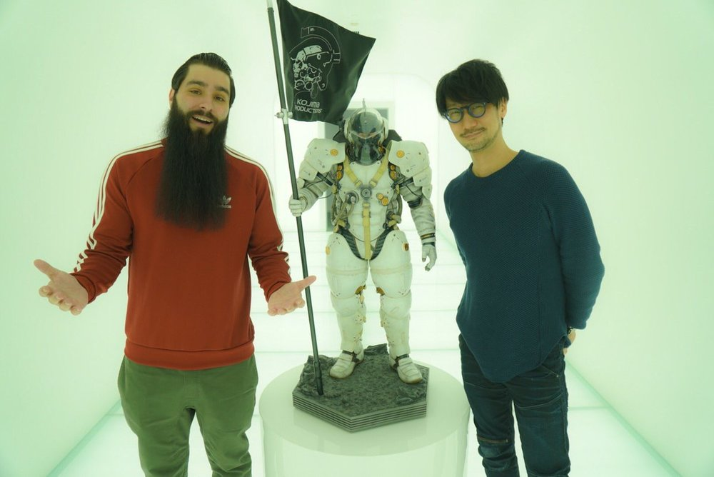 Vogt-Roberts with Kojima  via twitter