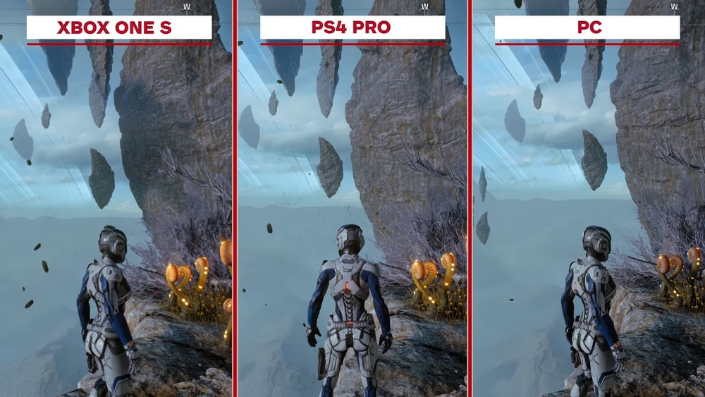 How Ps4 Games Look : Here s what mass effect andromeda looks like across xbox