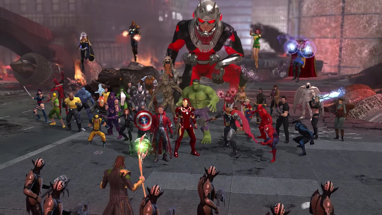 After Three Years On PC Marvel Heroes Is Coming To Console In The Form Of Omega This Spring Players Will Be Able Jump Into Free