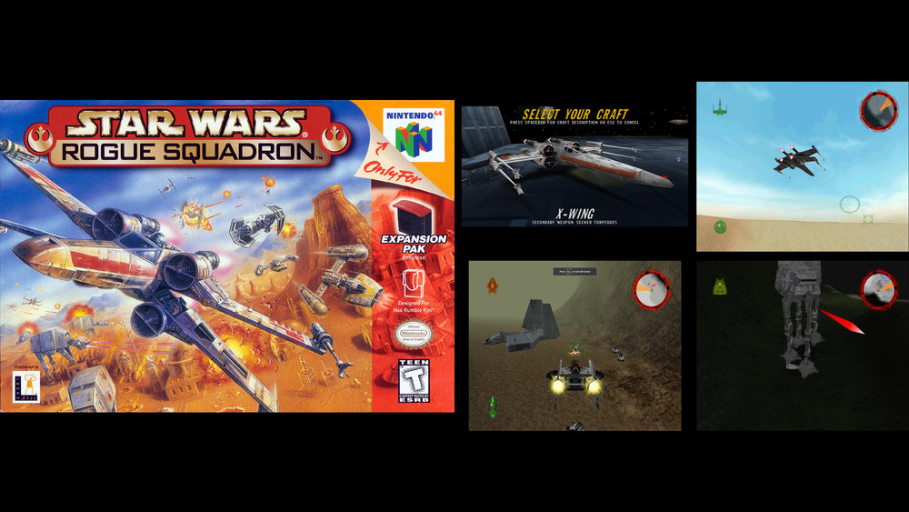 Retro Review: STAR WARS: ROGUE SQUADRON