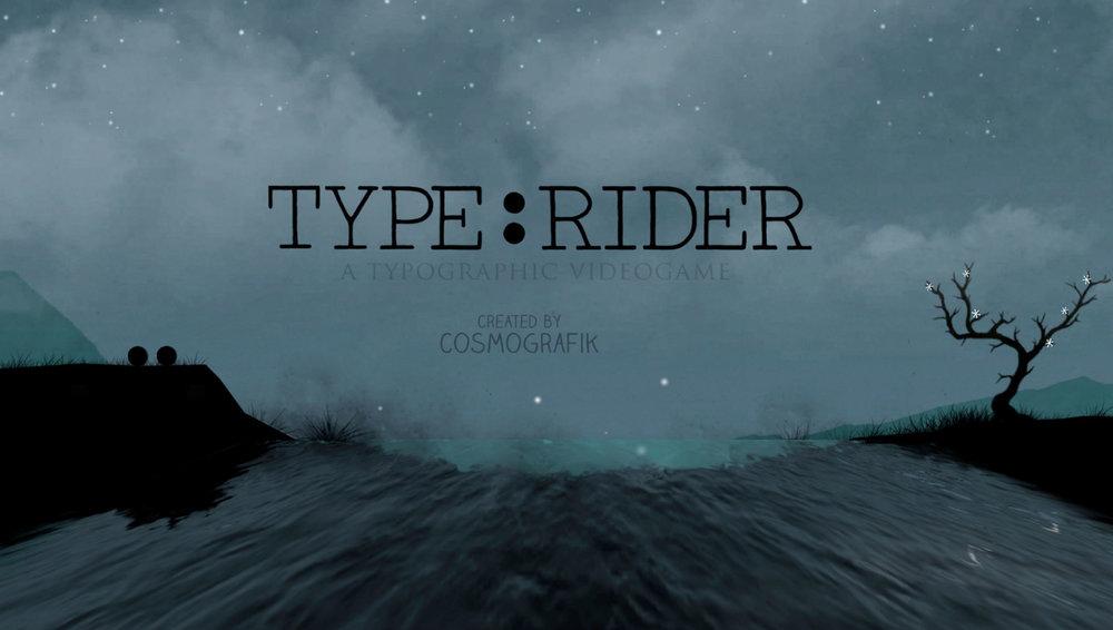 Type:Rider Intro screen