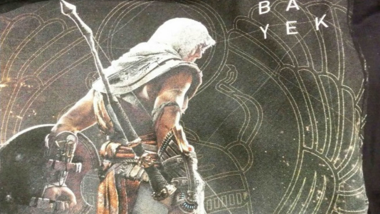 ASSASSIN'S CREED ORIGINS Protagonist and Logo Leaked — GameTyrant