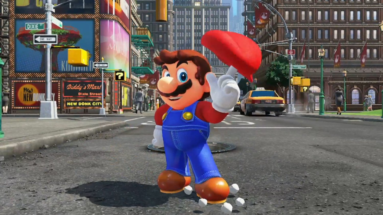 E3 2017 Hands On Super Mario Odyssey Gametyrant