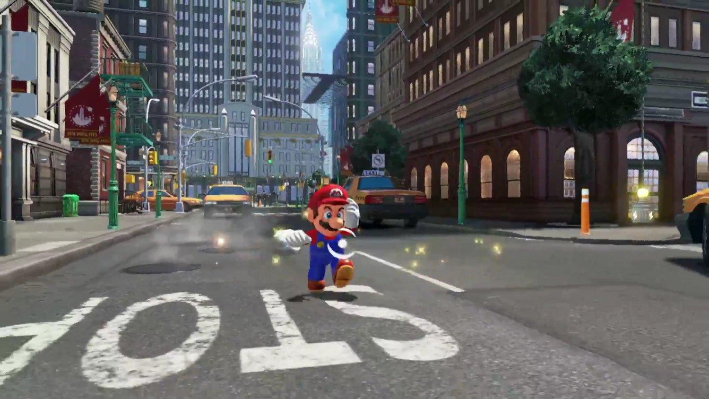Watch Mario Fight A Mecha Wiggler In Super Mario Odyssey Gametyrant