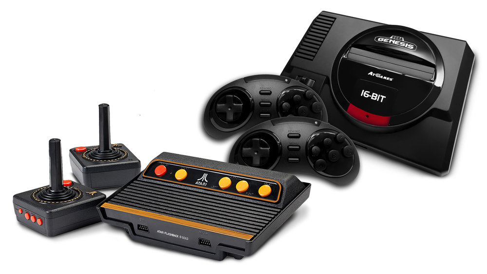Atgames announce pre order date for both atari 2600 and - Atgames sega genesis classic game console game list ...